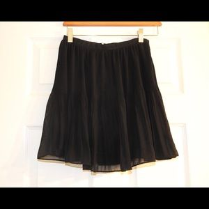 Black Sparkle & Fade skirt